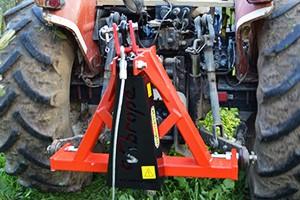 Kadiouglu köteles rázógép, traktor adapter